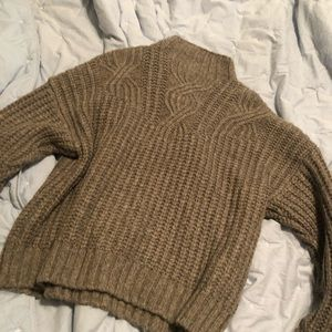 NWT Knit Cowl Neck Sweater